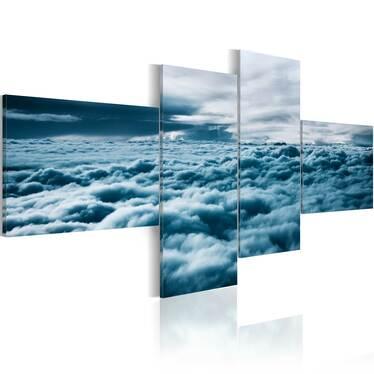 Obraz - Z głową w chmurach  100x45 cm