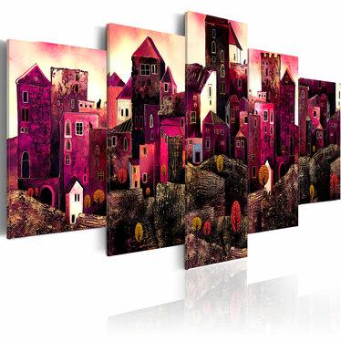 Obraz - Miasto snów 200x100 cm