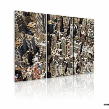 Obraz - Nowojorskie drapacze chmur 60x40 cm