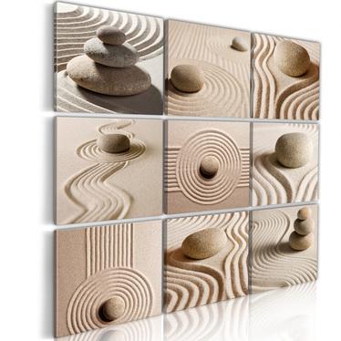 Obraz - Chwila wytchnienia - Zen 60x60 cm