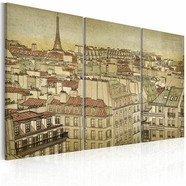Obraz - Paryż - miasto harmonii 120x80 cm