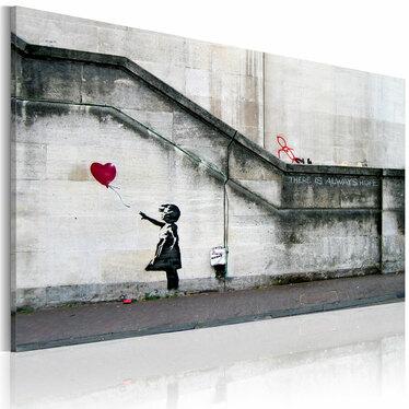 Obraz - Zawsze jest nadzieja (Banksy) 60x40 cm