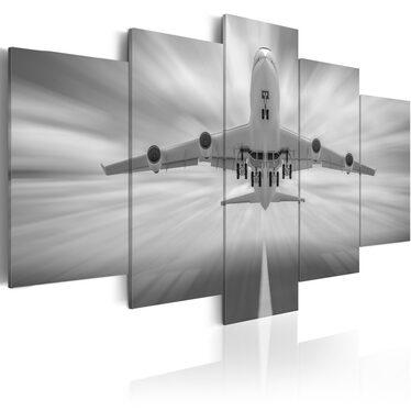 Obraz - Samolot 200x100 cm