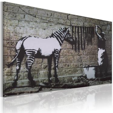 Obraz - Pranie (Banksy) 60x40 cm