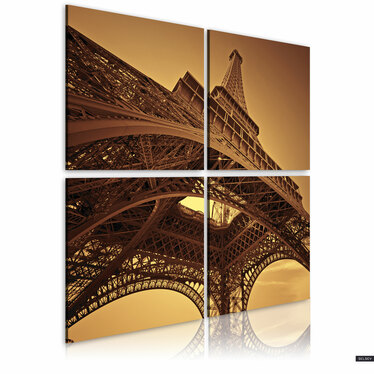 Obraz - Paryż - Wieża Eiffla 40x40 cm