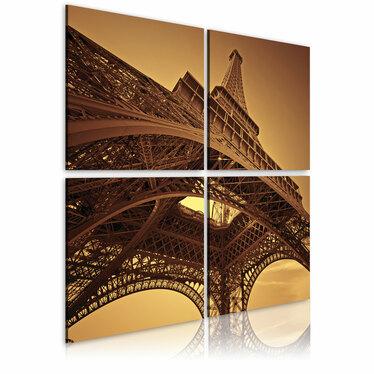 Obraz - Paryż - Wieża Eiffla 80x80 cm