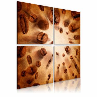 Obraz - Energetic coffee 80x80 cm