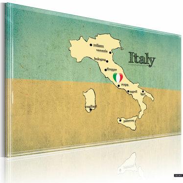 Obraz - Serce Włoch 90x60 cm