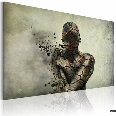 Obraz - The man of stone 60x40 cm