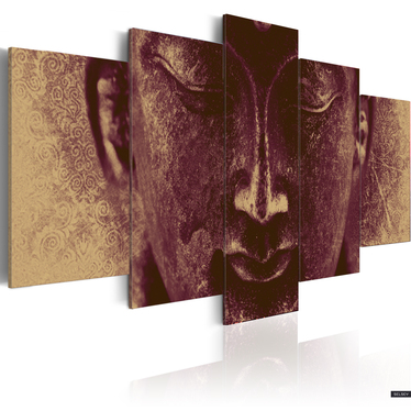 Obraz - Enlightened Buddha 200x100 cm