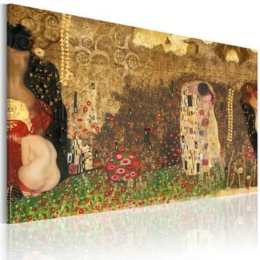 Obraz - Gustav Klimt - inspiracja 90x60 cm