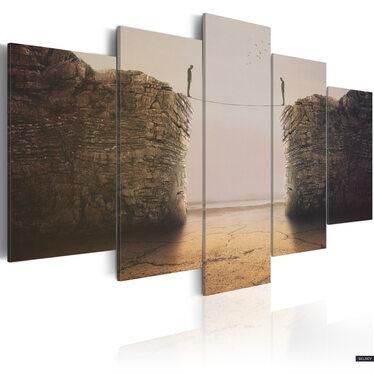 Obraz - Existential dilemmas 100x50 cm