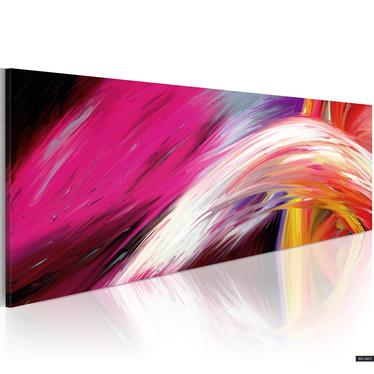 Obraz - Fala optymizmu 120x40 cm