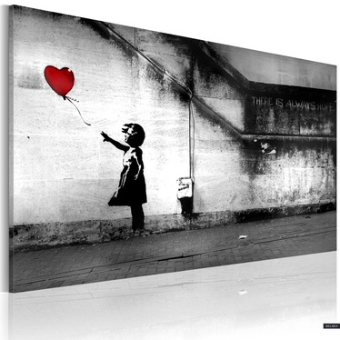 Obraz - nadzieja (Banksy) 60x40 cm