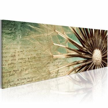 Obraz - Ulotna poezja 120x40 cm