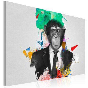 Obraz - Pan Małpa 90x60 cm