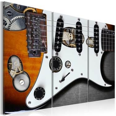 Obraz - Guitar Hero 120x80 cm