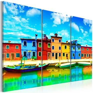 Obraz - Słoneczny poranek w Wenecji 120x80 cm