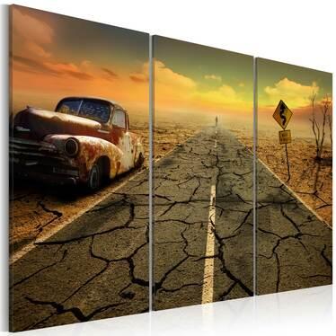 Obraz - Na pustyni 60x40 cm