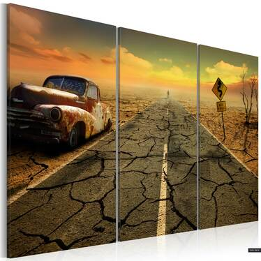 Obraz - Na pustyni 120x80 cm