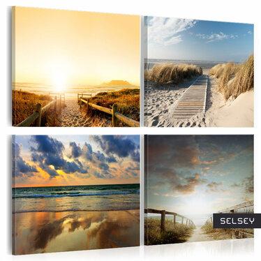 Obraz - Na plaży ze snów 80x80 cm