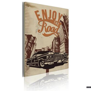 Obraz - Enjoy the road 50x70 cm