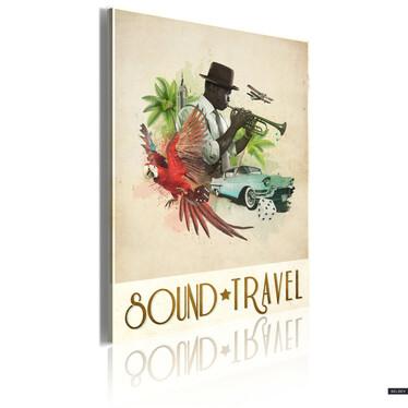 Obraz - Sound&Travel 50x70 cm