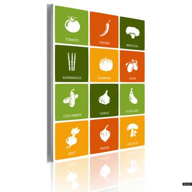 Obraz - Healthy mix 50x70 cm