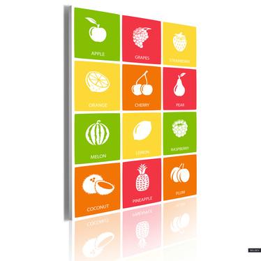 Obraz - Fruit mix 50x70 cm