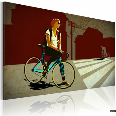 Obraz - Miejska podróż 60x40 cm