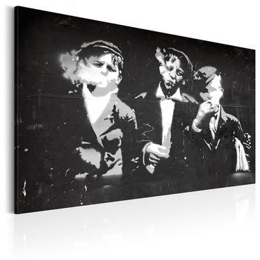 Obraz - Uliczna ferajna (Styl retro) 90x60 cm