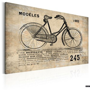 Obraz - N° 1245 - Bicyclette  90x60 cm
