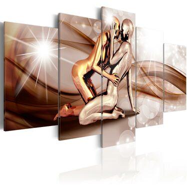 Obraz - Fale miłości 100x50 cm