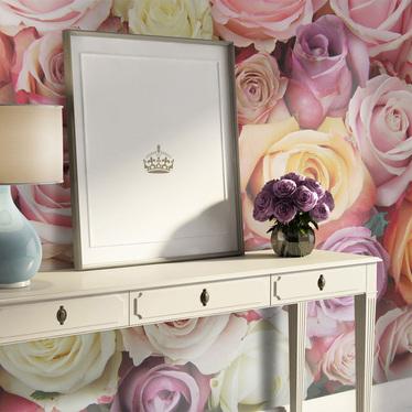 Fototapeta - Pastelowe róże 200x154 cm