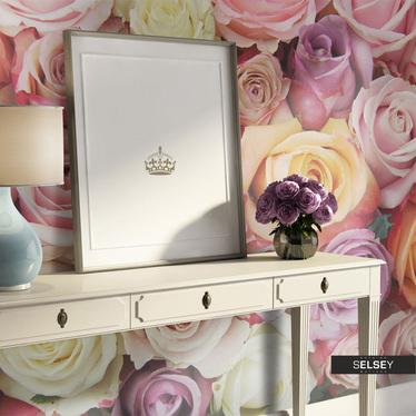 Fototapeta - Pastelowe róże 350x270 cm