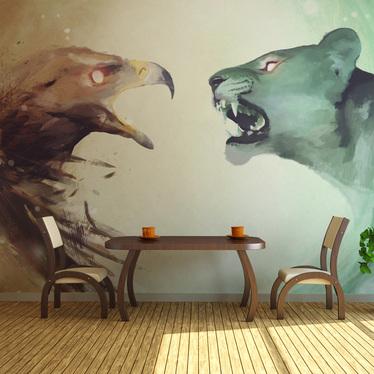 Fototapeta Interspecies clash