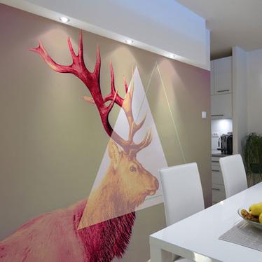 Fototapeta jeleń (motyw graficzny)