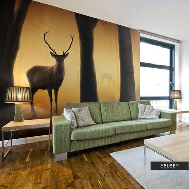 Fototapeta - Deer in his natural habitat 400x309 cm