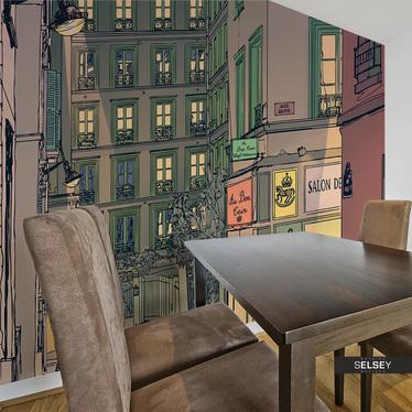 Fototapeta - Śniadanie w Paryżu 200x154 cm