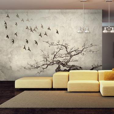 Fototapeta Flock of birds