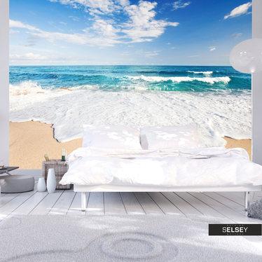 Fototapeta - Bałwany morskie 300x210 cm