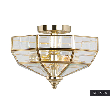 Lampa sufitowa Old Park Polished Brass