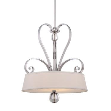 Lampa wisząca Madison Manor Silver