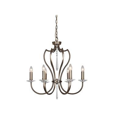 Lampa Pimlico x6 Bronze