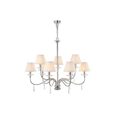 Lampa Finsbury Park x9 Nickel