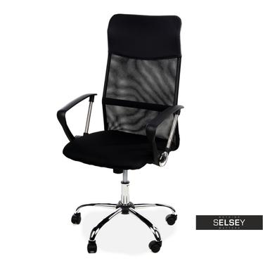 Fotel biurowy Kapri z systemem wentylacji
