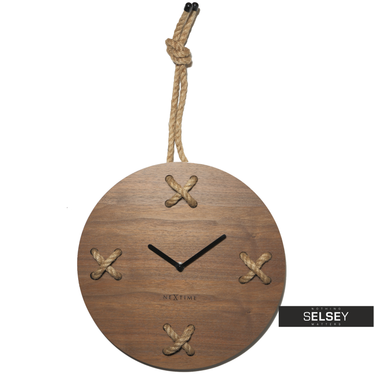 Zegar drewniany Stich