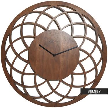 Zegar drewniany Midrat duży średnica 60cm