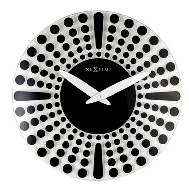 Zegar szklany Oranglo średnica 43 cm