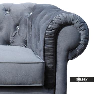 Sofa Chesterfield 2-osobowa